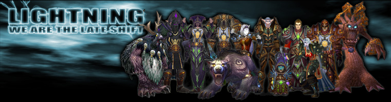 LIGHTNING world of warcraft late night raiding guild eu recruiting