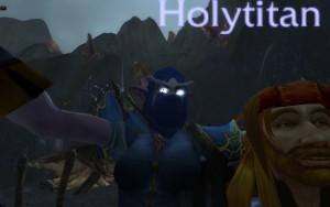 Holytitan photobombs Anteea
